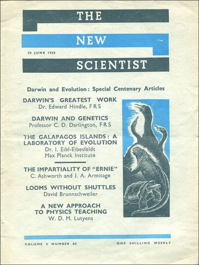 Image for New Scientist Vol 4 No 84 26 June 1958