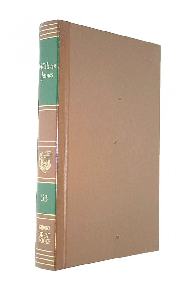 Image for Great Books Of The Western World : Volume 53 : William James  :