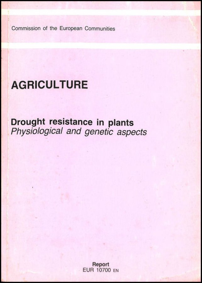 Image for Drought Resistance in Plants: Physiological and Genetic Aspects (Agriculture)