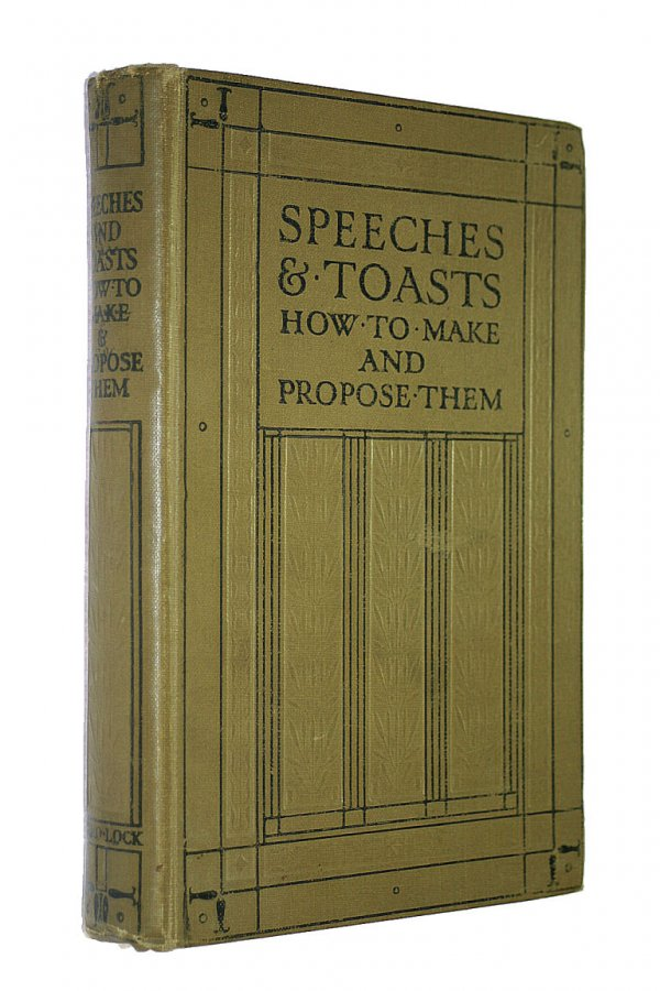 Image for Speeches and Toasts - How to Make and Propose Them