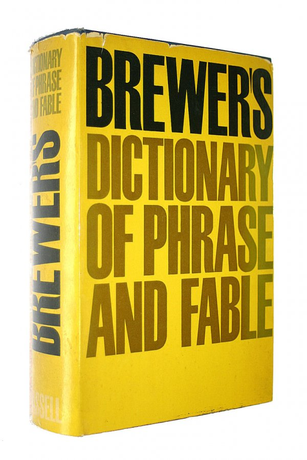 Image for Brewer's Dictionary Of Phrase & Fable.