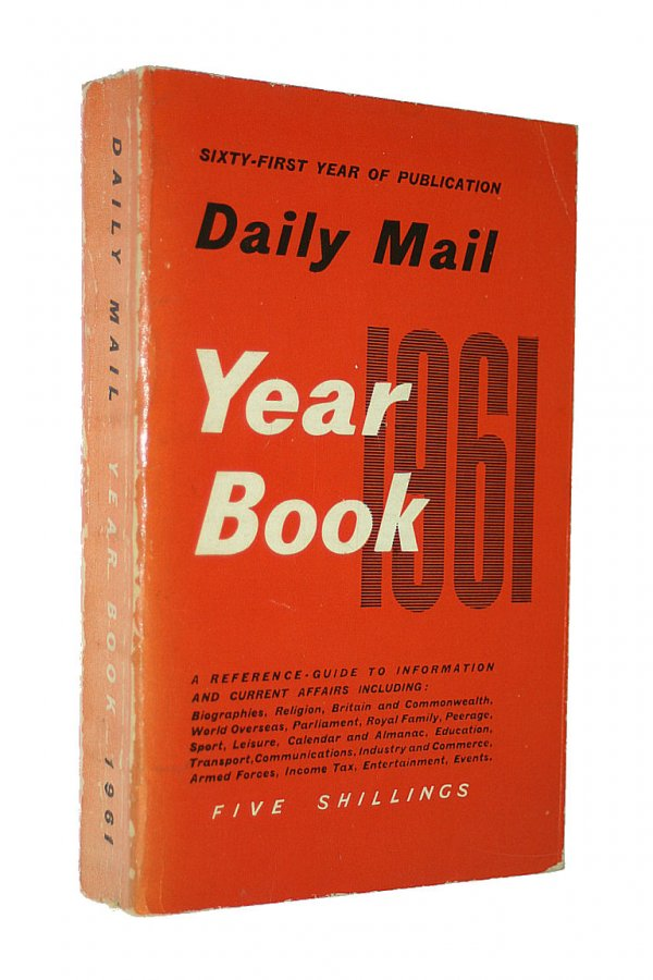 Image for Daily Mail Year Book 1961