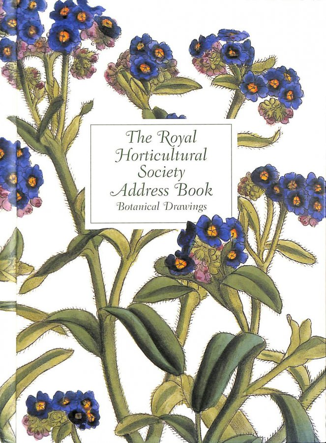 Image for The Royal Horticultural Society Address Book: Botanical Drawings - John Lindley 1799-1865 (RHS)