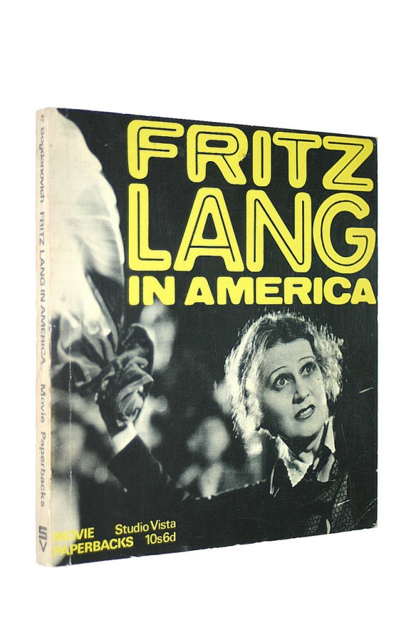 Image for Fritz Lang in America (Movie Paperbacks)