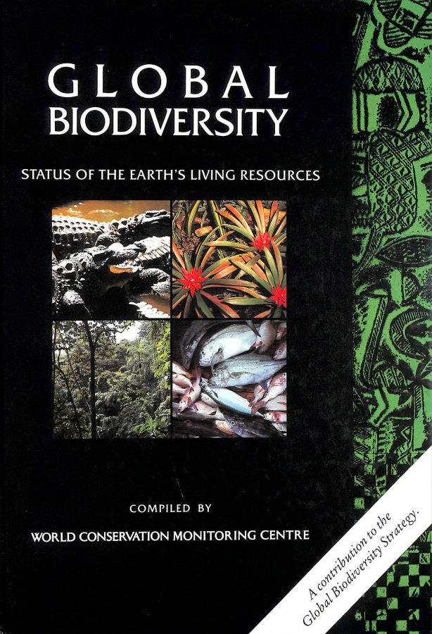 Image for Global Biodiversity: Status of the Earth's Living Resources