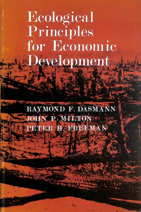 Image for Ecological Principles for Economic Development
