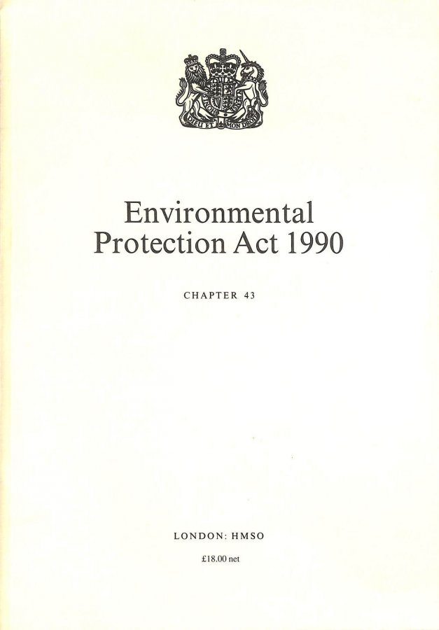 Image for Environmental Protection Act 1990: Elizabeth II. Chapter 43