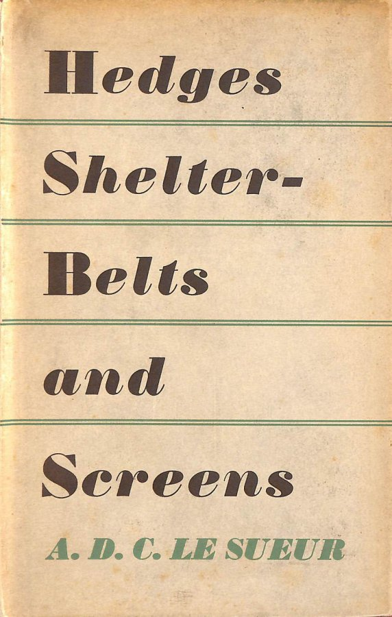 Image for Hedges, Shelter - Belts And Screens