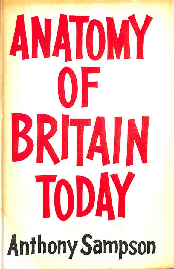 Image for Anatomy Of Britain Today.