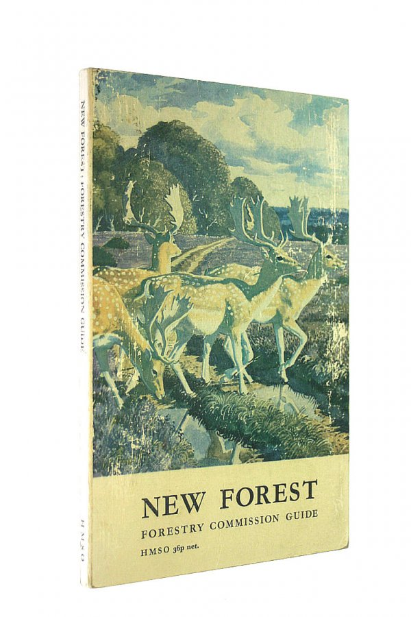 Image for FORESTRY COMMISSION GUIDE: NEW FOREST.