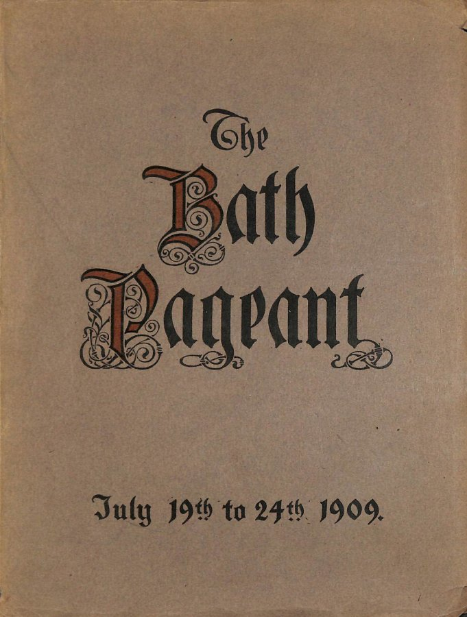 Image for Bath Historical Pageant July 19Th To 24Th, 1909