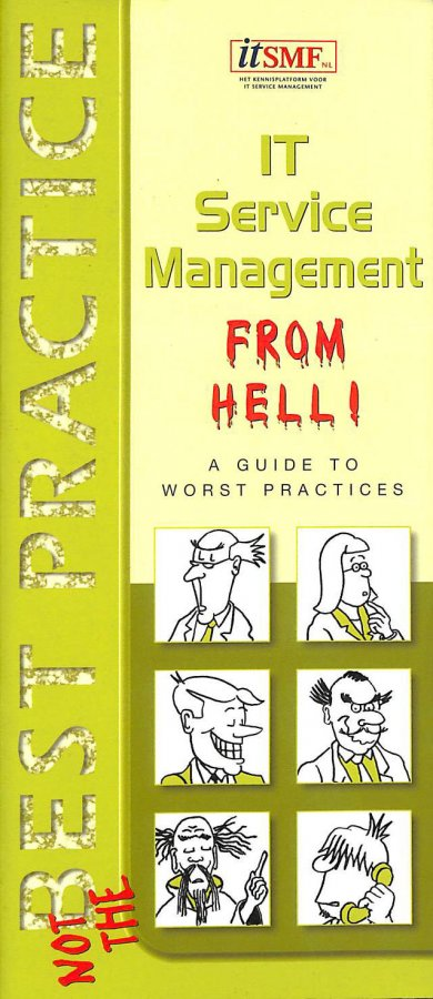 Image for Project managing ITSM from hell: a guide to worst practices