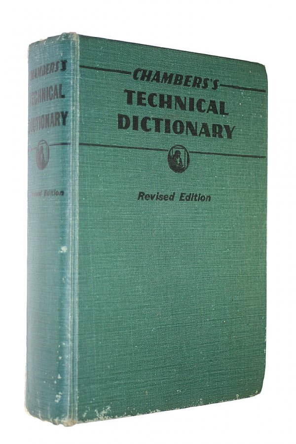 Image for Chamber's Technical Dictionary