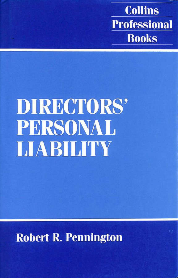Image for Directors' Personal Liability
