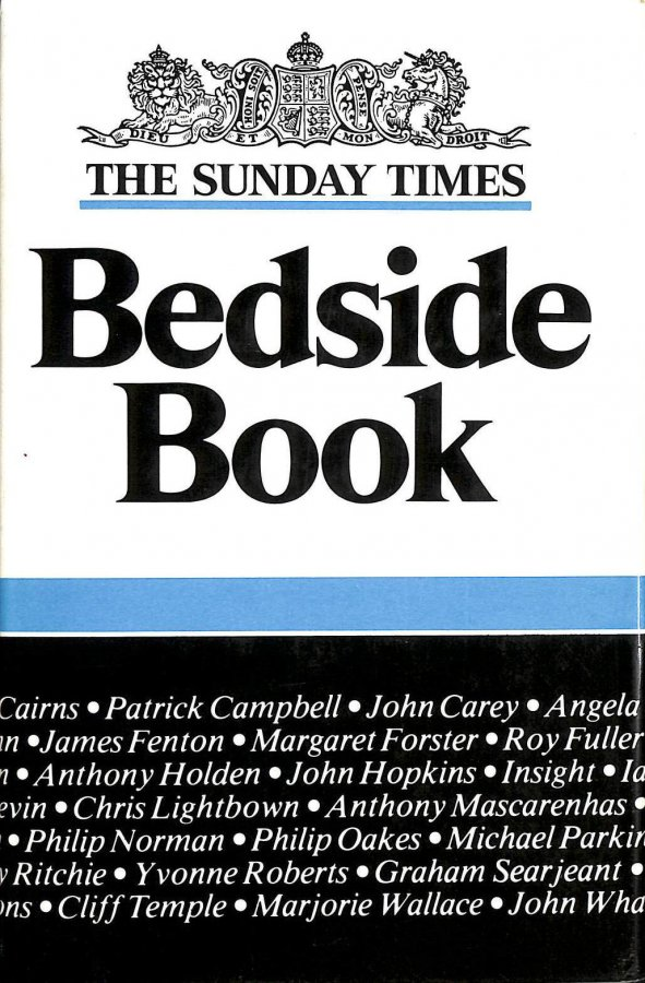 "Image for ""Sunday Times"" Bedside Book: No. 2"