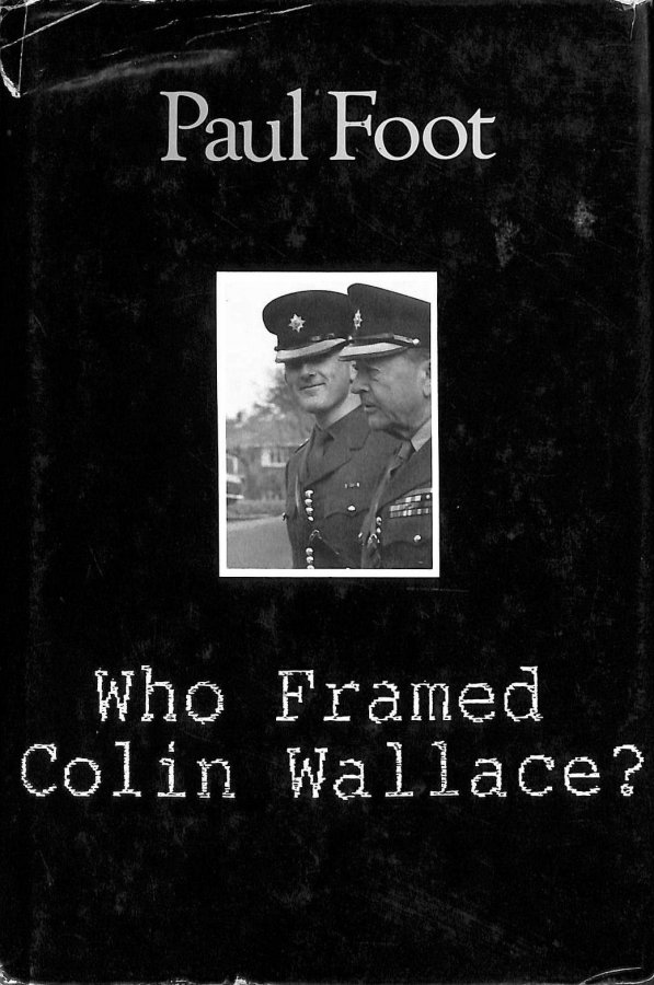 Image for Who Framed Colin Wallace?