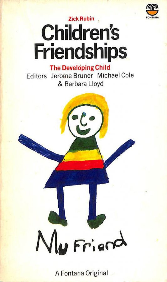 Image for Children's Friendships (The Developing Child)