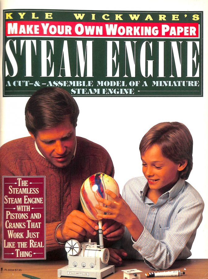 Image for Make Your Own Paper Steam Engine