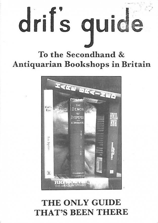 Image for Driff's Guide to All the Second-hand and Antiquarian Bookshops in Britain 1991-92
