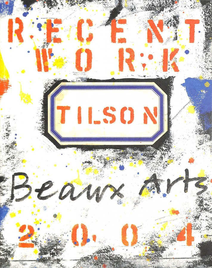 Image for Tilson: Recent Work At Beaux Arts.