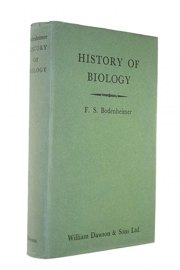 Image for THE HISTORY OF BIOLOGY: AN INTRODUCTION.