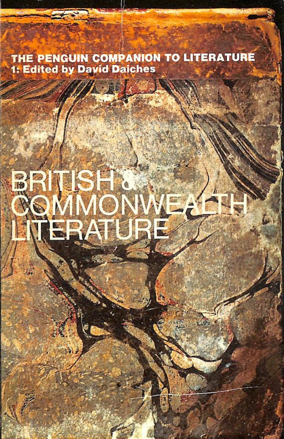Image for Penguin Companion to Literature: Britain and the Commonwealth v. 1 (Reference Books)