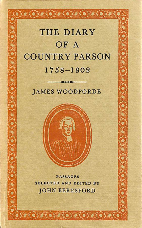 Image for Diary of a Country Parson, 1758-1802 (World's Classics)
