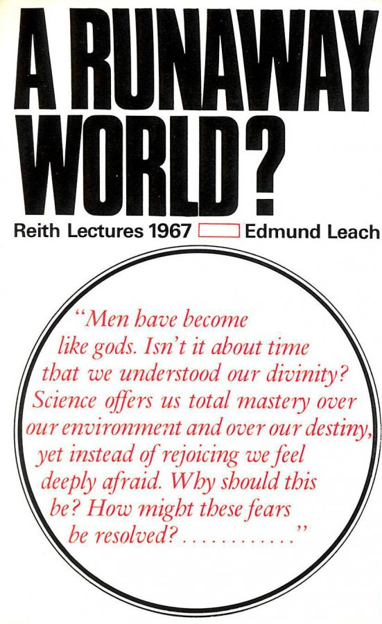 Image for A Runaway World? The Reith Lectures 1967