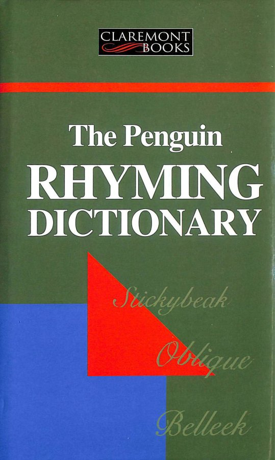 Image for Penguin Rhyming Dictionary