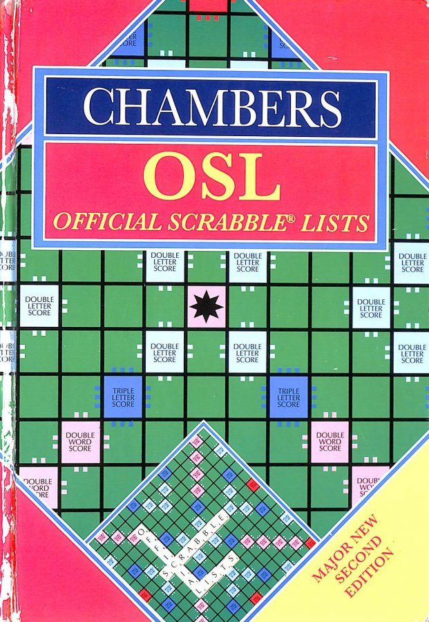 Image for Chambers Official Scrabble Lists