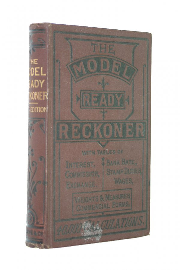 Image for The Model Ready Reckoner with Tables