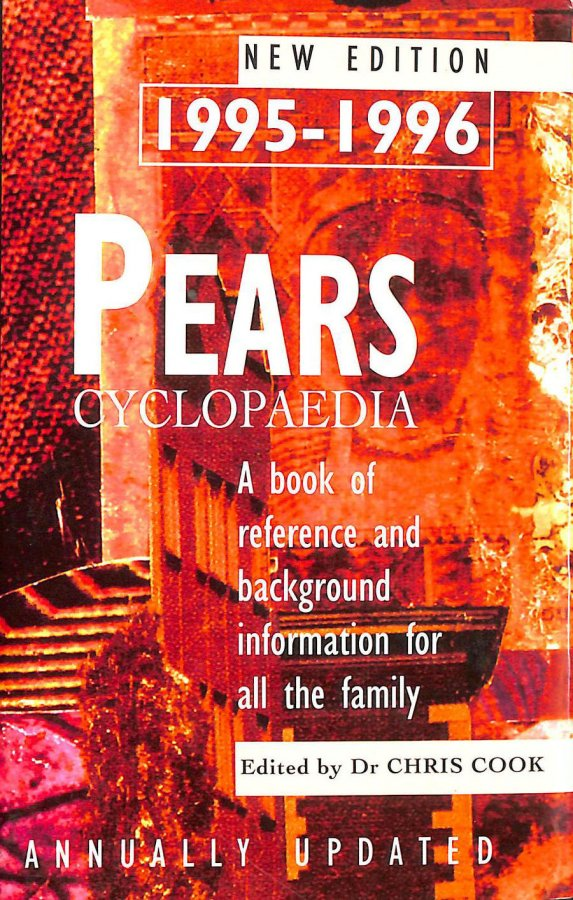 Image for Pears Cyclopaedia 1995-1996