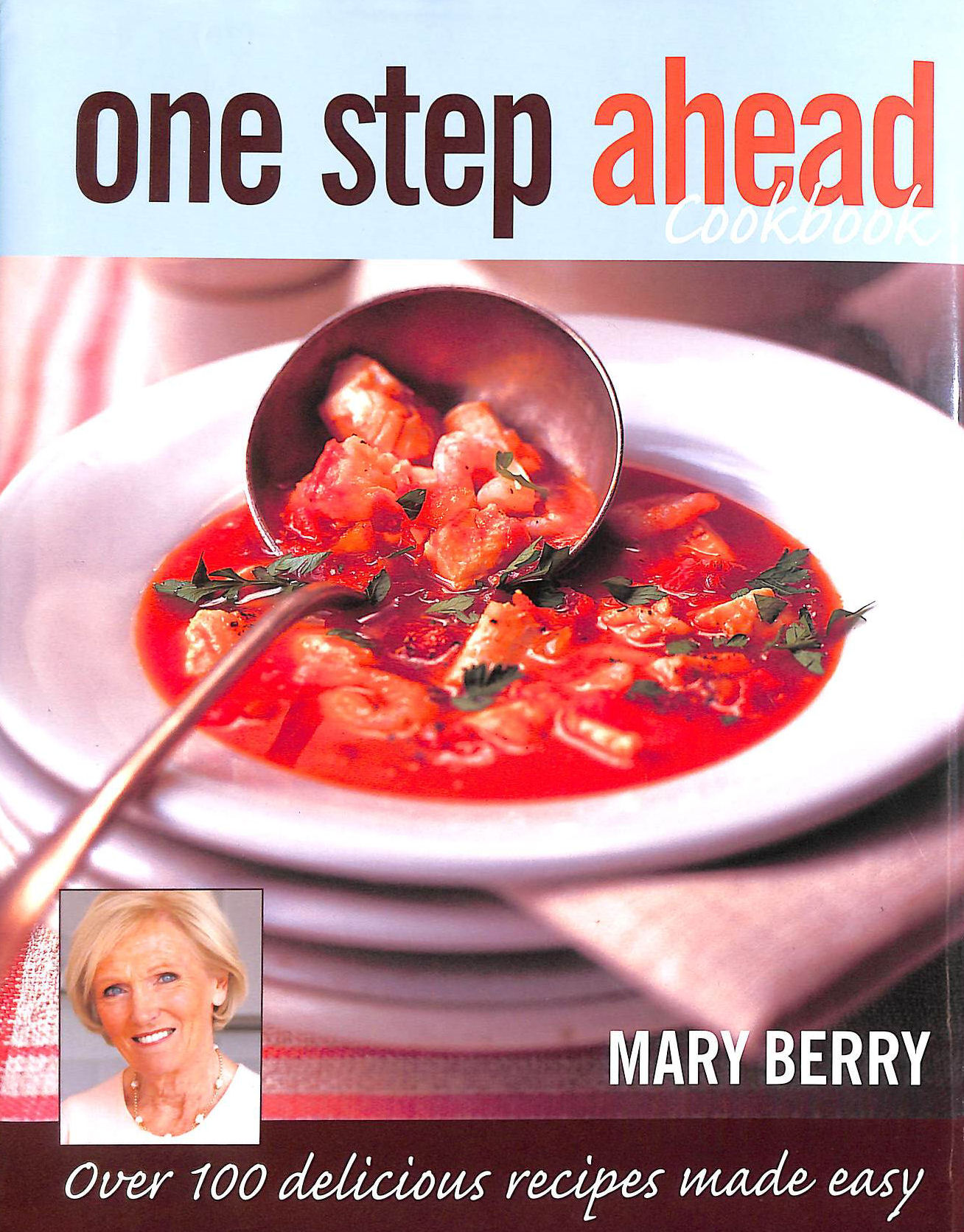 Image for One Step Ahead Cookbook