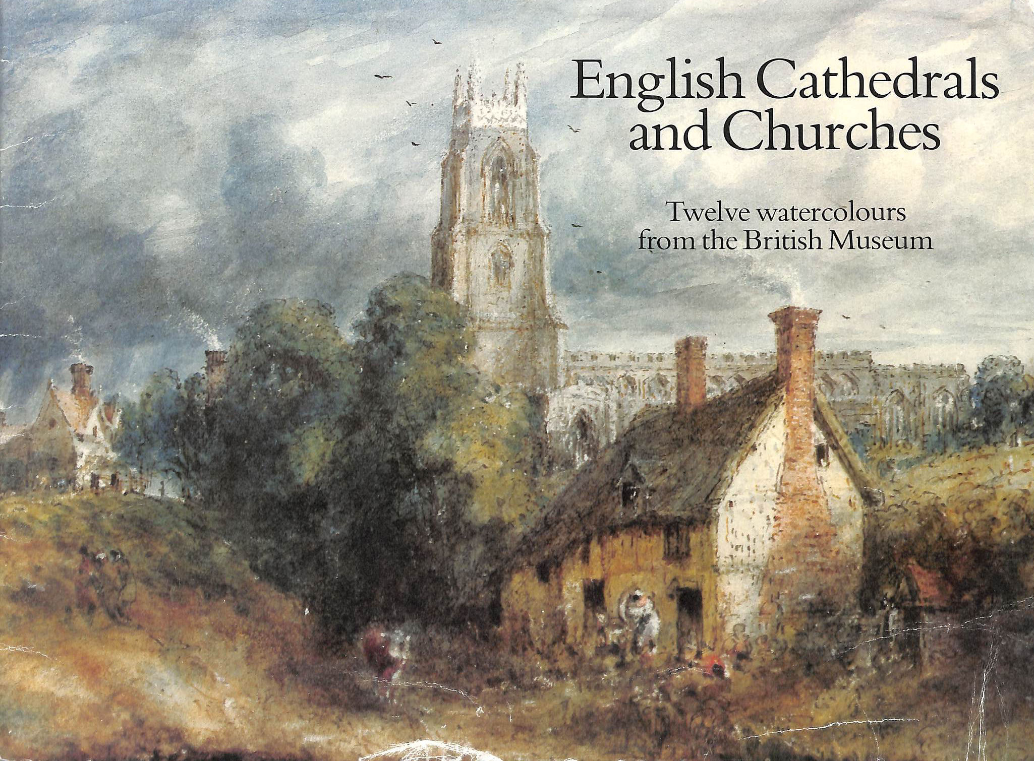 Image for English Cathedrals and Churches: Twelve Watercolours from the British Museum