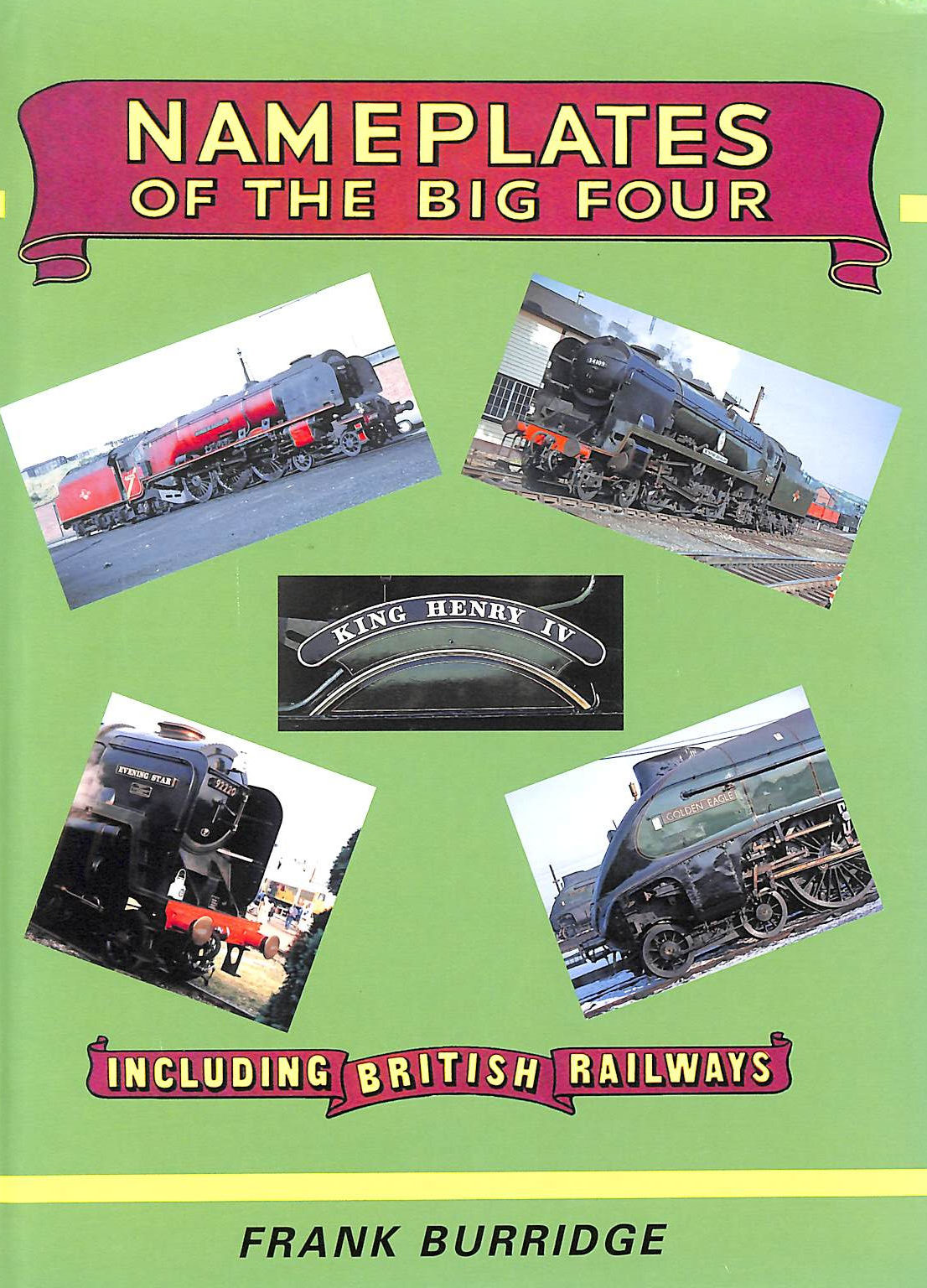 Image for Nameplates of the Big Four Including British Railways