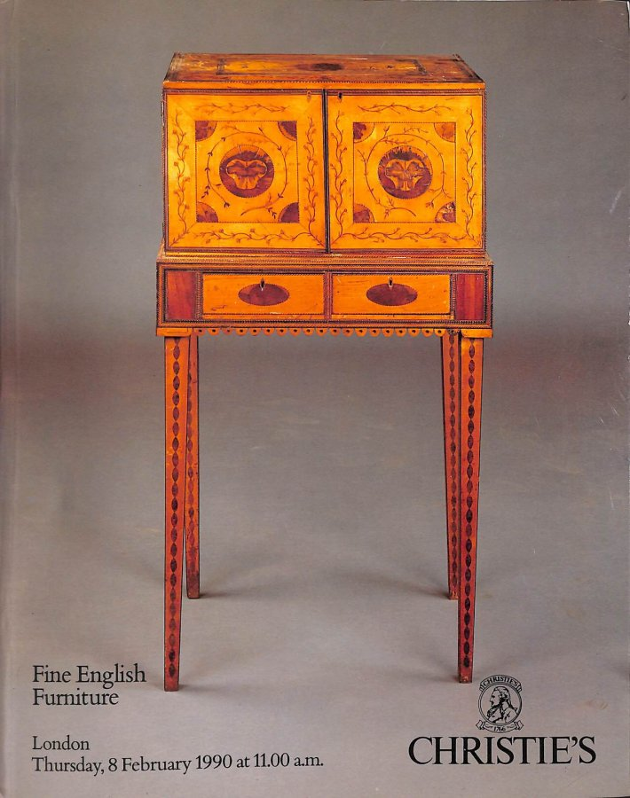 Image for Christie's Fine English Furniture, Thursday 8th February 1990