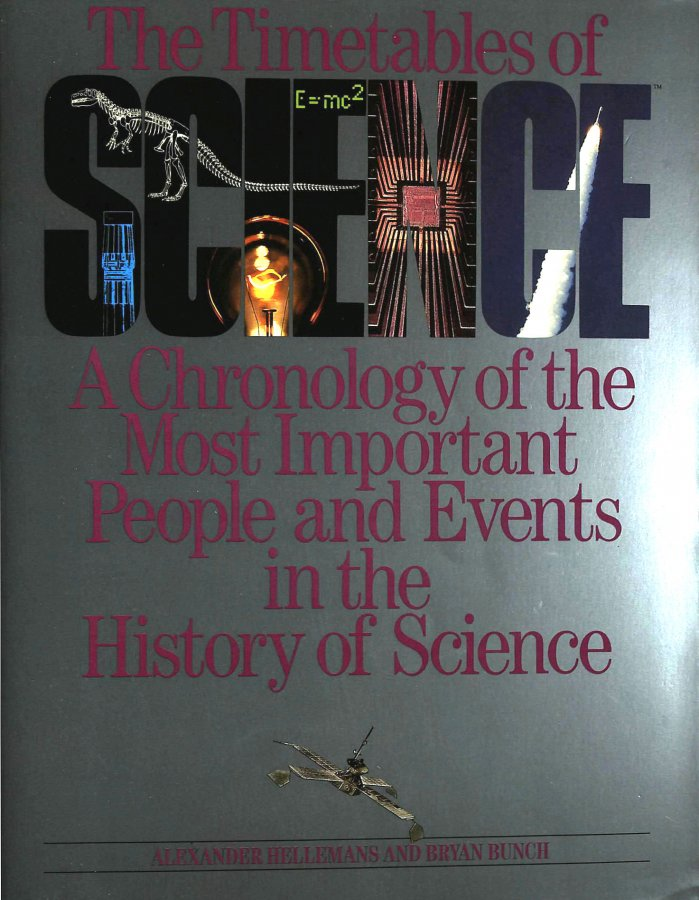 Image for The Timetables of Science: A Chronology of the Most Important People and Events in the History of Science