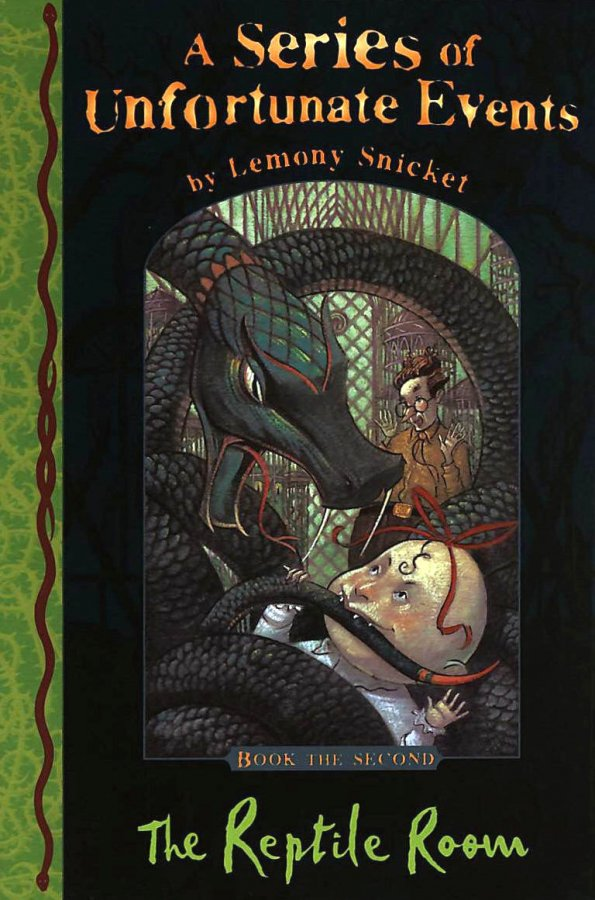Image for The Reptile Room: A Series Of Unfortunate Events Book The Second(Book Two, 2))