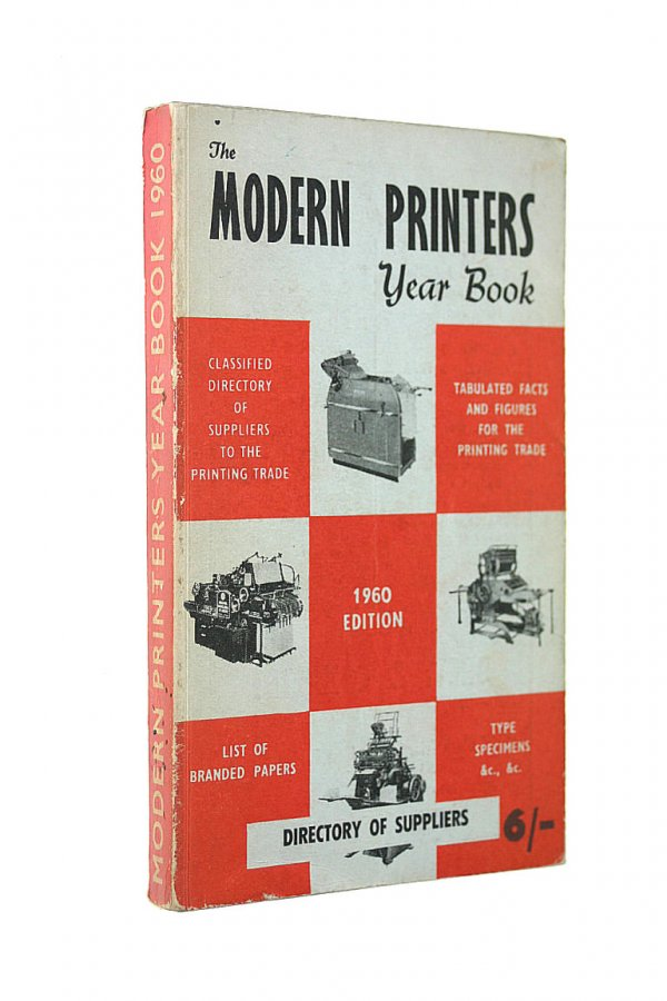 Image for Modern Printer's Year Book 1960