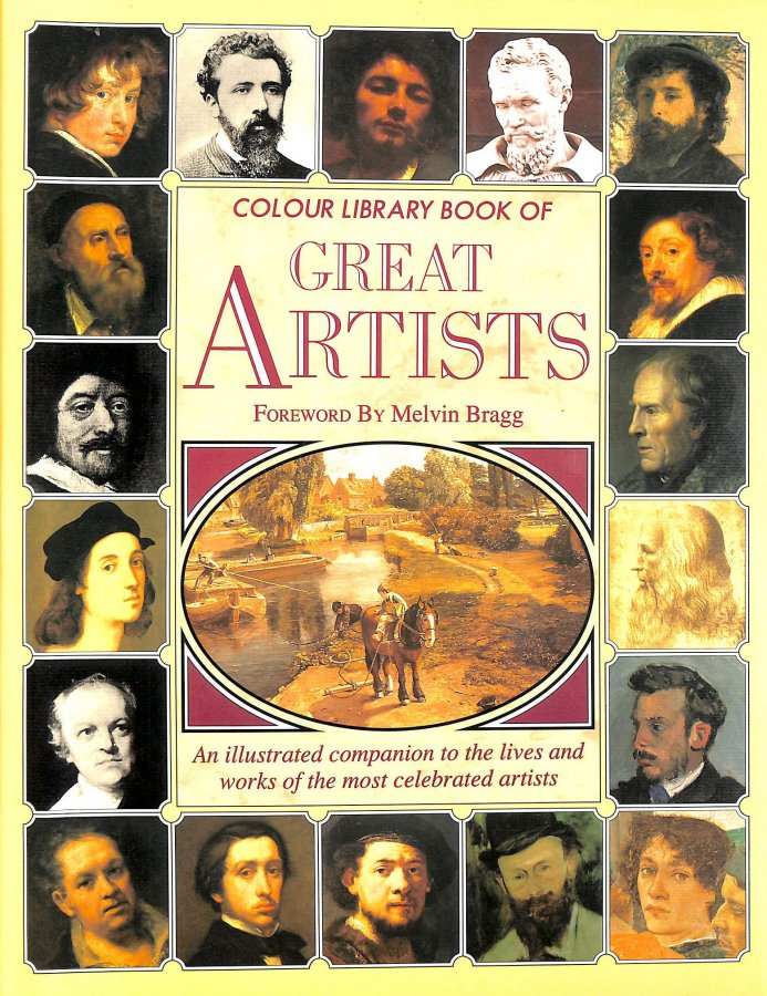 Image for Colour Library Book Of Great Artists