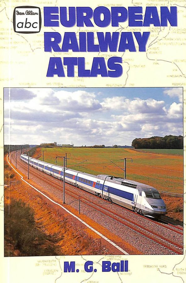 Image for European Railway Atlas (Ian Allan abc S.)