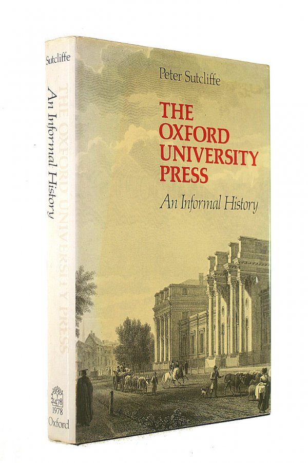 Image for The Oxford University Press: An Informal History