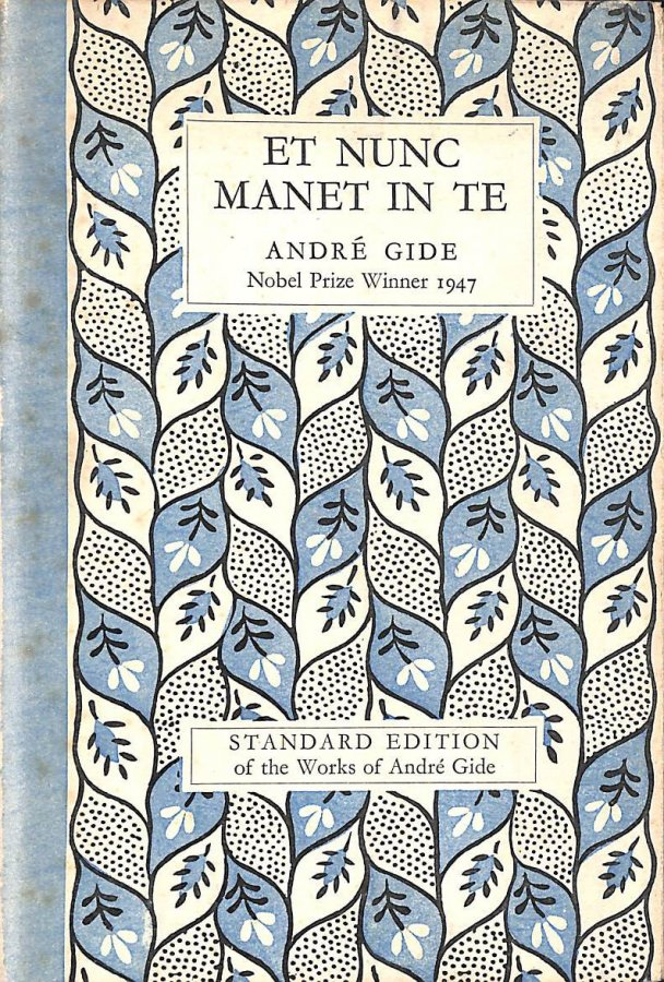 Image for Et nunc manet in te, and Intimate journal