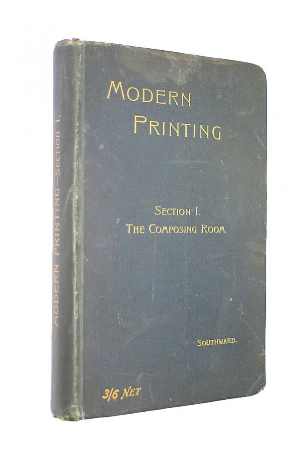 Image for Modern Printing Section 1 The Composing Room