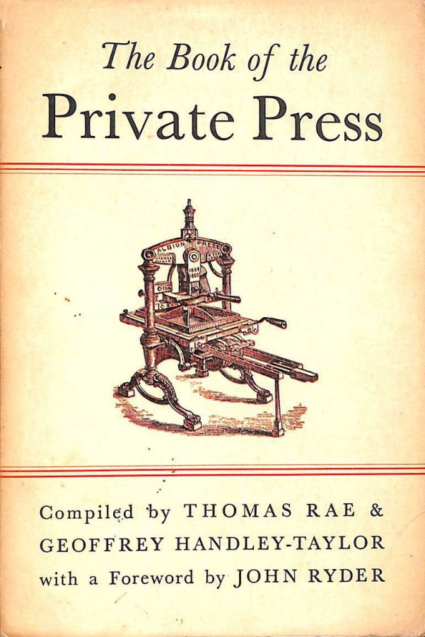 Image for The Book of the Private Press