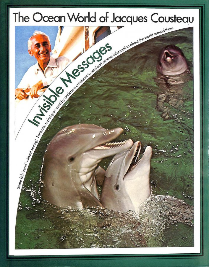 Image for The Ocean World of Jacques Cousteau: Invisible Messages