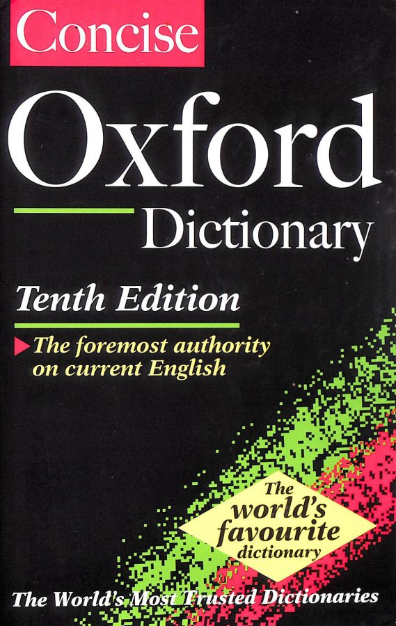 Image for The Concise Oxford English Dictionary