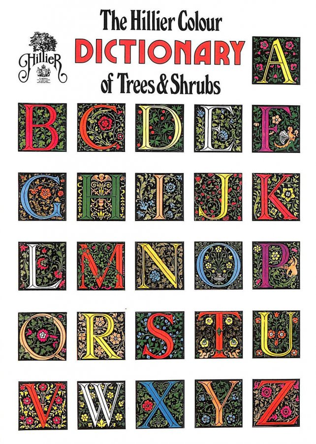 Image for Colour Dictionary of Trees and Shrubs