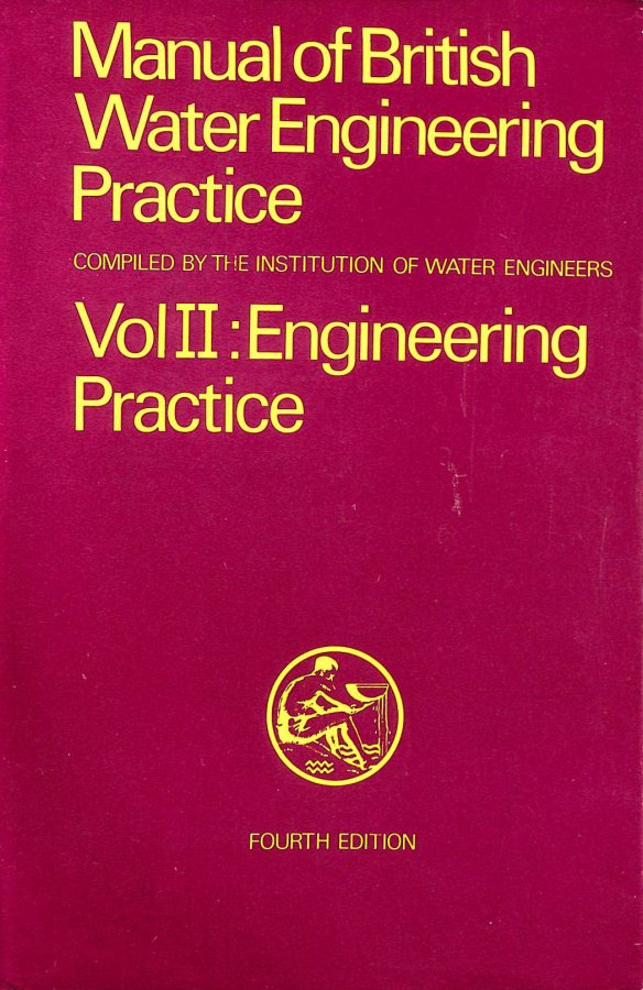 Image for Manual of British Water Engineering Practice: v. 2