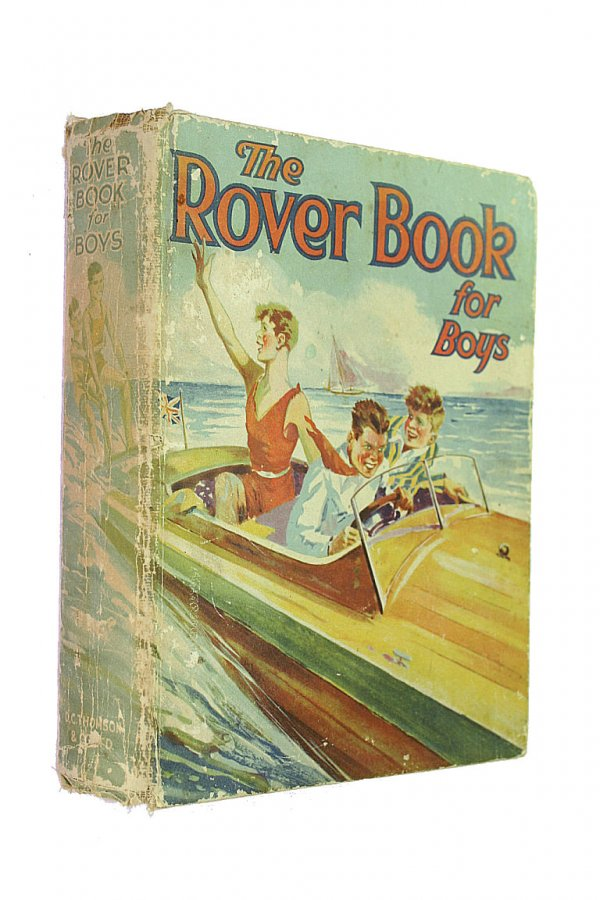 Image for The Rover Book for boys [1931]